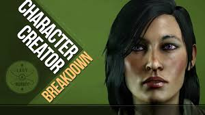 dragon age inquisition character customization breakdown youtube