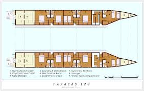 catamaran yacht paracas 120 layout u2014 luxury yacht charter