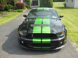 Green And Black Mustang Sell Used 2011 Shelby Gt500 Svt Package 700hp Synergy Green