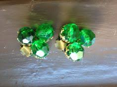 sparkly green earrings sale large pearl earrings vintage faux pearl earrings