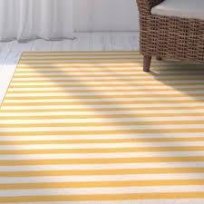 yellow u0026 gold outdoor rugs you u0027ll love wayfair