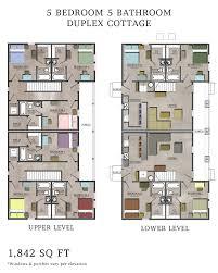 5 bedroom house plans 5 bedroom duplex house plans nrtradiant com