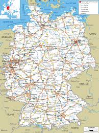 Map Of East And West Germany by Detailed Clear Large Road Map Of Germany Ezilon Maps