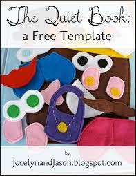 the quiet book blog free quiet book template