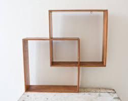 vintage on the shelf geometric shelves etsy