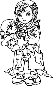 dr kid cutie std kids coloring page wecoloringpage