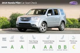 do all honda pilots 3rd row seating 2014 honda pilot car seat check cars com
