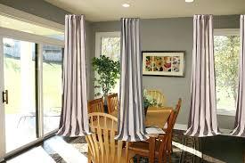 curtain ideas for dining room 3 window curtain ideas medium size of dining room bay window curtain