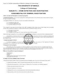 fundamentals of criminal investigation 1 crime scene forensic