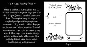 wedding scrapbook page wedding premade scrapbook pages dec studios