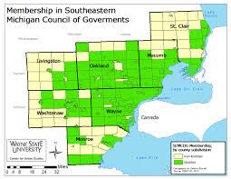 Jackson Michigan Map by Politics