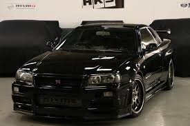 harlow jap autos uk stock 2002 nissan skyline r34 gtr v spec 2 nur