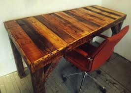 Diy Wood Desk Diy Pallet Desk Bob Vila Thumbs Up Bob Vila
