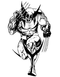 free wolverine coloring pages print coloringstar