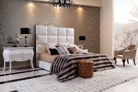 white headboard queen type modern house design fresh and clean
