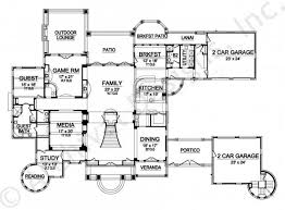 house plans with portico kingsbridge residential house plans mansion house plans