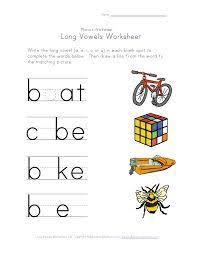 resultado de imagen para vowel worksheets a b c and vowels