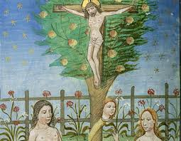 jesus crucifixion on the tree of nu