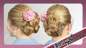 Hochsteckfrisuren Mittellange Haare Einfach by Leichte Hochsteckfrisur Für Mittel Lange Haare Maybeperfect