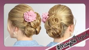 Hochsteckfrisurenen Lange Dicke Haare by Leichte Hochsteckfrisur Für Mittel Lange Haare Maybeperfect