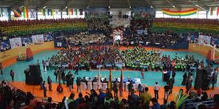 presidente inaugura segunda fase de los juegos en sucre inicia los juegos deportivos estudiantiles plurinacional