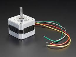 stepper motor nema 17 size 200 steps rev 12v 350ma id 324