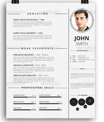 awesome resume templates resume template with picture insert tomyumtumweb