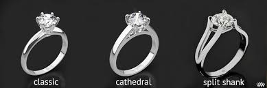 cathedral setting how to choose an engagement ring setting prosumer diamonds