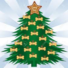 good dog christmas tree gingerbread dog bone treats star