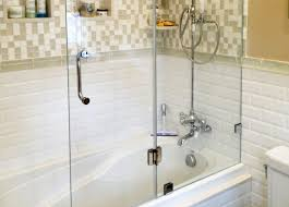 glass tub shower doors frameless design your bathroom with glass bathtub doors manalapan nj