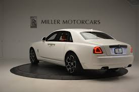 matte gray rolls royce 2017 rolls royce ghost black badge stock r412 for sale near