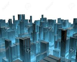 cityscape backdrop 3d city stock photo picture and royalty free image image 12954990