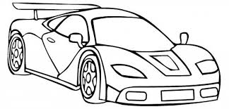 free printable race car coloring pages kids race car