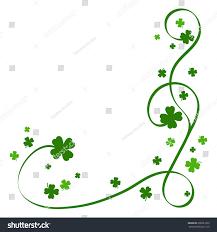 four leaf clover swirl pattern stock vector 206521639 shutterstock
