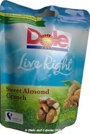 dole fruit snacks diets and calories dole live right healthy snacks range review