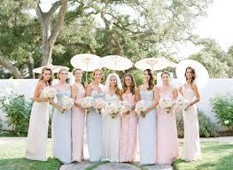 spring pastel bridesmaid dress ideas trendy bride magazine