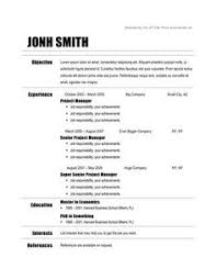 sample resume format doc resume objectives 46 free sample example