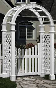 pergola awesome arched garden trellis chunky high quality arch
