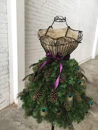 christmas tree dress christmas lights decoration