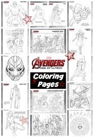 avengers age of ultron coloring pages avengersevent avengers