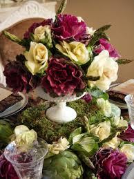 edible floral arrangements edible fall centerpiece hgtv