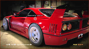 f40 parts awesome parts need for speed car