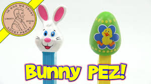 easter bunny candy pez easter bunny and easter egg candy dispensers