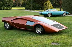 lancia stratos 1970 lancia stratos zero concept images specifications and