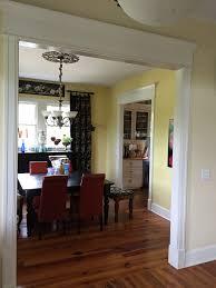 work in progress living room dining room entry edition pillar