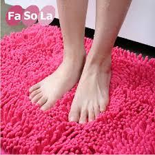 attractive microfiber chenille bath rug buy 2 pc green microfiber