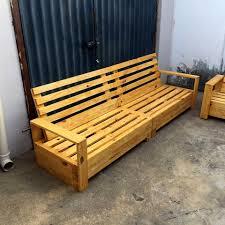 Wooden Pallet Furniture Repurposed Pallet Furniture Set 101 Pallets