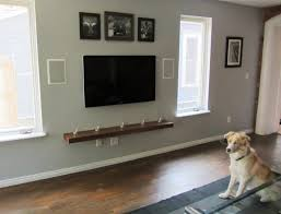 living interior tv on the wall ideas hiding wires mount laminate
