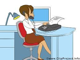 bureau clipart secrétaire dessins gratuits bureau clipart image