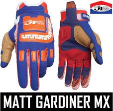 jt racing motocross gear jt racing life line motocross mx mens gloves orange blue retro evo